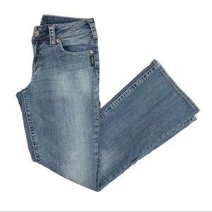 Silver Suki mid rise bootcut jeans - size 28
